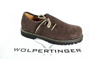 Wolpertinger Men's Costume Dress Shoes Brogue Dark Brown Threaded Sole New