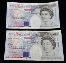 1993 BANK OF ENGLAND TWENTY POUND NOTES (2)
