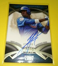 2014 Topps Tier 1 JUNIOR LAKE New Guard Autographs CUBS /399