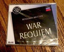 War Requiem, Britten, B., CD Disc Original recording remastered Decca NEW