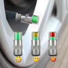 4 x rueda de coche Caps 32 PSI aire polvo Monitor Sensor válvula neumático de presión 32 PSI