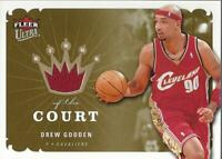 2006-07 Ultra Kings of the Court #KKDG Drew Gooden Jersey - NM-MT