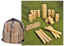 Kubb Spiel Wurfspiel Rasenschach Wikingerspiel Spielzeug Outdoor Schach Holz