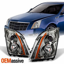 Fits 2008 2014 Cadillac Cts Replacement Halogen Projector Headlights Lhrh Lamps Fits 2010 Cadillac Cts