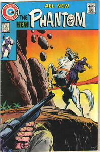 The Phantom Comic Book #61 Charlton Comics 1974 VERY FINE