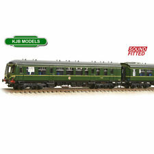 More details for bnib n gauge farish 371-887ds dcc sound cl 108 3 car dmu br green speed whiskers