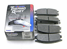 SET OF 4  NEW WAGNER  MX471  REAR THERMO QUIET PREMIUM DISC BRAKE PADS