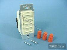 Leviton Almond Decora Single Pole Scene Select 4-Step Light Dimmer Switch 6161-A