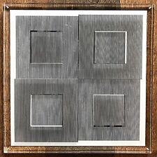 Ludwig Wilding, Multiple, 1974, signiert, limitiert, Konkrete Kunst