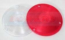 RED / WHITE LENSES FOR HELLA LOLLIPOP LOLLYPOP EARRING MIRROR LAMP/LIGHT SCANIA