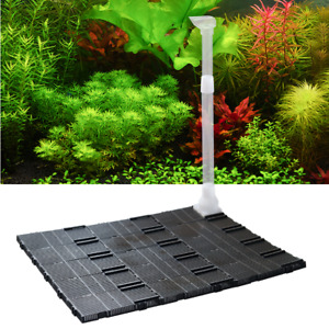 Aquarium Tank Bottom Board Plate Under Gravel Filter fish shrimp Air Tube UK