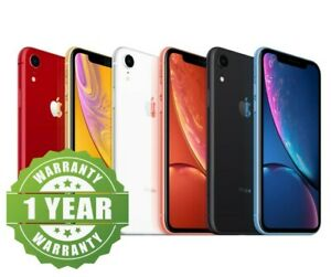 Apple iPhone XR - 64GB 128GB 256GB Unlocked Smartphone Excellent Condition