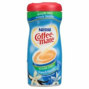 Coffee Mate French Vanilla Sugar Free 289g (pack of 3)