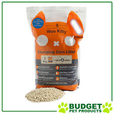 Rufus & Coco Wee Kitty Clumping Corn Cat Litter 4kg