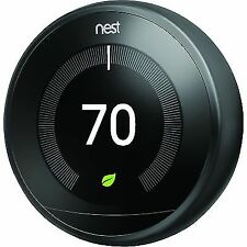 Nest T3029EX 3rd Generation Thermostat - Black