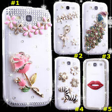 Diamonds Soft Phone Cases with 2 Glass Screen Protector films + crystals strap 1