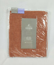 """JCP Home Cedarwood Red Bayview Rod-Pocket Tailored Valance, 50""""x18"""""""
