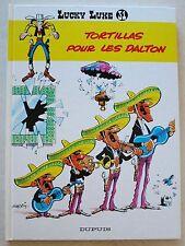 Lucky Luke Tortillas pour les Dalton MORRIS & GOSCINNY éd France Loisirs rééd