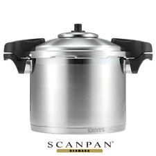 SCANPAN 8L 24CM PRESSURE COOKER STAINLESS STEEL W/ SIDE HANDLES 18302