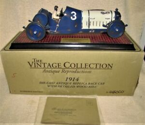 Indy 500 1914 Race Car by Enesco - MIB - Stretched 1/18