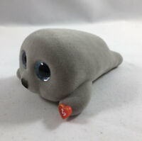 TY Beanie Boos Mini Boo NEAL the Grey Seal Series 3 Collectible Figure (2 Inch)