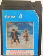 CARTRIDGE TRACK TAPE CASSETTA STEREO 8 ADRIANO CELENTANO SOLI