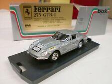 BOX MODEL 1/43 - FERRARI 275 GTB/4 TdC 1969 - 8442