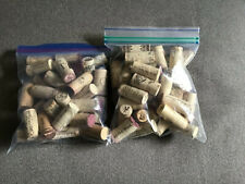 Premium Recycled Corks Natural Wine Corks From Around the US: 75+ Count