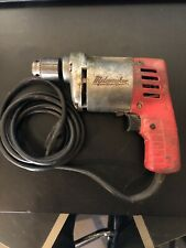 Vintage Milwaukee Electric Drill  Nice Working!