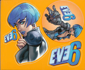 Eve 6 Horrorscope RARE promo sticker sheet (3 in 1) 2000