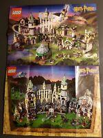 Lego Harry Potter Sorcerer's Stone Series & Chamber of Secrets Poster Lot