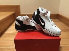 NIKE AIR ZOOM GENERATION QS FIRST GAME AJ4204 101 LEBRON RETRO 1 Size 9.5