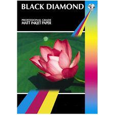BLACK DIAMOND DOBLE CARA MATE A4 Profesional Papel fotográfico 220g / 100 hojas