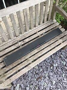 Panasonic Sound Bar Model SU-HTB485 NO REMOTE UNTESTED LOOKS OK