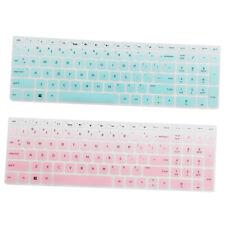 """Cover per tastiera in silicone morbido per laptop HP 15.6 """"BF Clear Pink &"""
