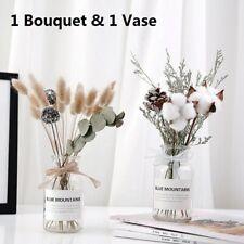 Retro Dried Flower Bouquet Bottle Home Decoration Photographing Ornament