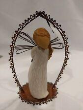 "Willow Tree Susan Lordi ""Thank You"" Angel Ornament – Demdaco"