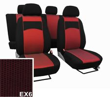 "NISSAN PULSAR 2014 PRESENT FABRIC ""VIP"" SEAT COVERS MADE TO MEASURE FOR CAR"