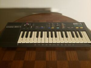 Vintage 1985 Casio SK-1 Sampling Synthesizer Keyboard Piano Synth 80s 1980's