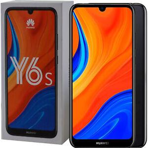 BNIB Huawei Y6S Dual-SIM 32GB ROM + 3GB RAM Black Factory Unlocked 4G SIMFree
