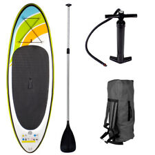 SUP Board Stand Up Paddle Surf-Board aufblasbar inkl. Paddel ISUP Paddling 213cm