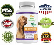 Glucosamine Chondroitin with Turmeric For Dogs MSM Pet Joint Support Supplement