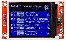 Zugzielanzeiger DB 1,8 Zoll Modell funktionsfähig H0