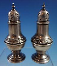 Buckingham by Gorham Sterling Silver Salt & Pepper Shakers 2pc #1178 (#1514)