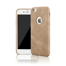 Ultra Slim Thin Hard Back Faux Leather Case Cover For Apple iphone 6 6s 7 Plus