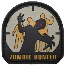 "MFH Velcro distintivo 3d ""Zombie Hunter"" Velcro Patch Badge distintivo Velcro"