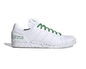 NWT Adidas Originals Stan Smith Clean Classic FU9609 White Green Sneaker Men 12M