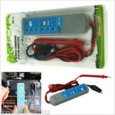 DC12V Car Truck Charging System Analyzer Alternator Tester 6LED Display Tool Kit