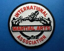International Martial Arts Association Karate TKD MMA Uniform Gi Patch Crest 550