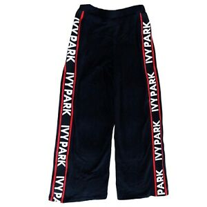 IVY PARK Logo Black Trackpants Womens Size XS *Sold out style*